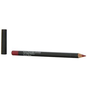 Youngblood Mineral Cosmetics Youngblood Lip Pencil, Truly Red, 1.1 Gram