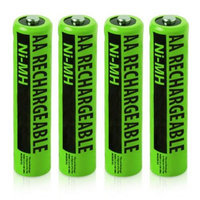 Replacement Battery (4-Pack) NiMh AA Batteries 4-Pack for Uniden Phones