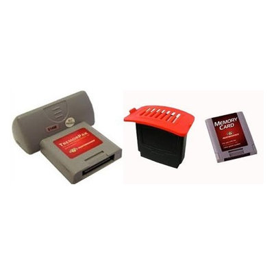 Nintendo 64 Accessories Set - Expansion Pak, Tremor Pak & Memory Card (N64)