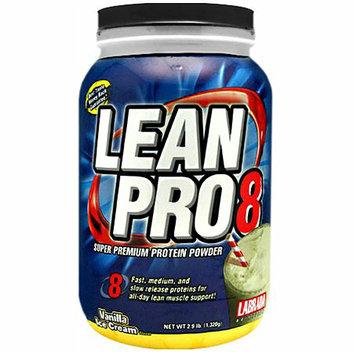 Labrada Nutrition Lean Pro8 Super Premium Protein Powder Vanilla