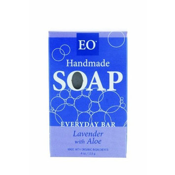 EO Everyday Bar Soap, Lavender & Aloe, 4-Ounce Boxes (Pack of 3)