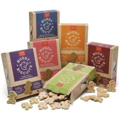 Cloud Star Buddy Biscuits Dog Treats, 16oz Box, Veggie
