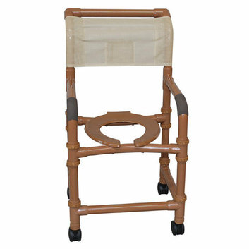 MJM International Deluxe Standard 18'' Shower Chair