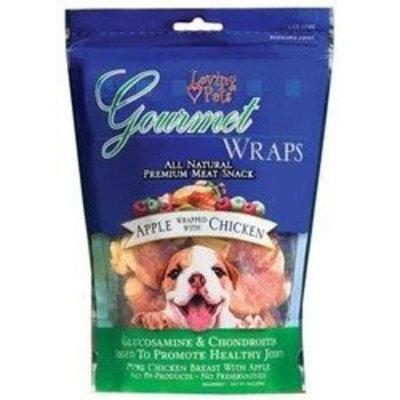 Loving Pets Loving Pet Gourmet Apple Wrapped In Chicken Wrap 6oz