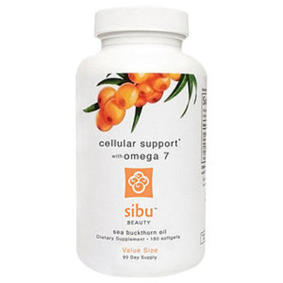Sibu Beauty Cellular Support With Omega 7, 180 softgels