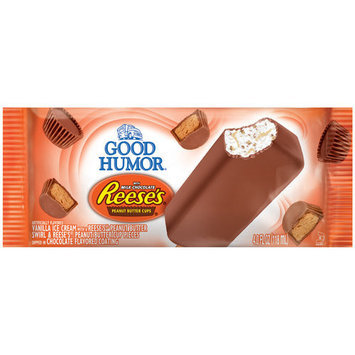 Good Humor Reese's Peanut Butter Cups Ice Cream Bar, 4 oz