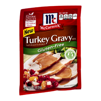 McCormick Gluten-Free Turkey Gravy Mix
