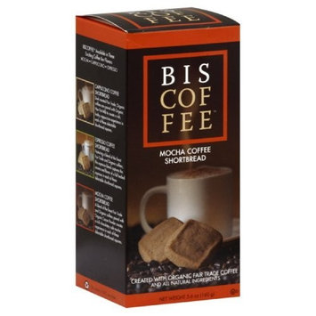 Biscoffee Mocha Coffee Shortbread