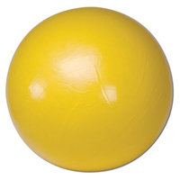 Cando 30-1801 Yellow Non-Slip PVC Vinyl Inflatable Exercise Ball, 18