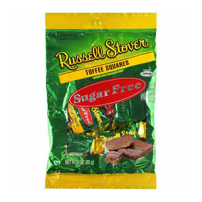 Russell Stover Sugar Free Toffee Squares
