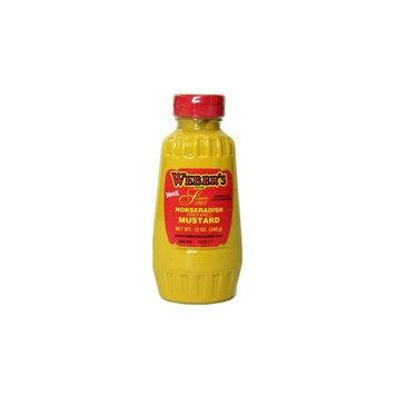 Buffalo's Own Weber's Brand Horseradish Mustard Squeeze Bottle 12oz.