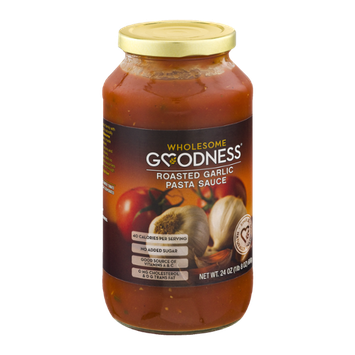 Wholesome Goodness Roasted Garlic Pasta Sauce