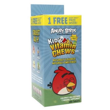 Natrol Angry Birds Kid's Vitamin Chews, 180 ea