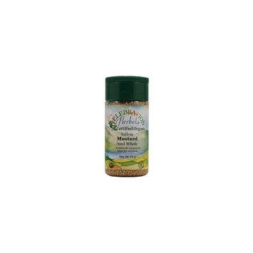 Celebration Herbals Organic Yellow Mustard Seed Whole