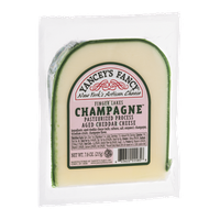 Yancey's Fancy Aged Cheddar Cheese Finger Lakes Champagne