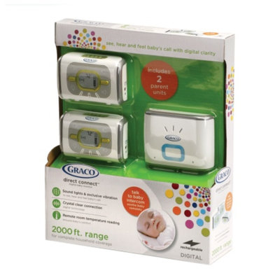 Graco Direct Connect Digital Monitor with 2 Parent Receivers