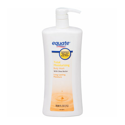 Equate Total Moisturizing Body Wash