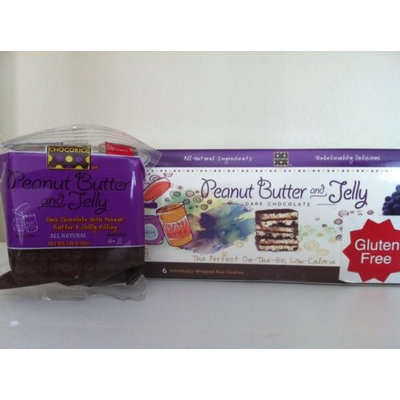 Palm Beach Foods Chocorice Dark Chocolate PBJ 30 pack