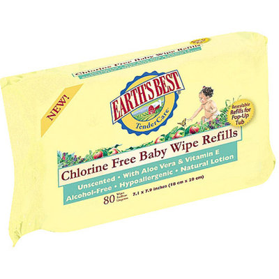 Earth's Best TenderCare Chlorine Free Baby Wipes