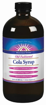Heritage Products Cola Syrup 16 fl oz