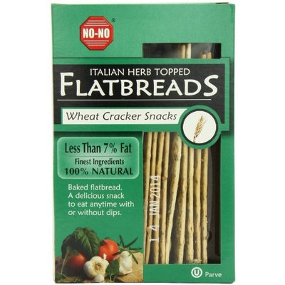 Suzies Suzie's Flatbread, Italian Herb, 4.5-Ounce Bags (Pack of 12)