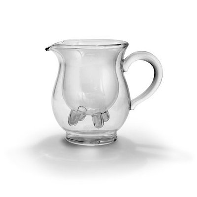 Fred & Friends Calf & Half Double-Walled Creamer Pitcher