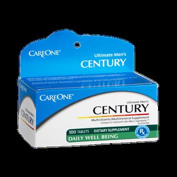 CareOne Century Ultimate Men's Multivitamin/Multimineral Supplement - 100 CT