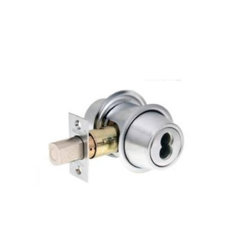 Falcon D131 BD 626 FIC7 Double Cylinder Deadbolt 2-3/4 Bs Ic Satin Chrome