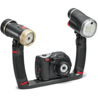 SeaLife DC1400 14MP HD Underwater Digital Camera Sea Dragon Pro Duo Set with Flash & Light Waterproof up to 200 ft. (60m)