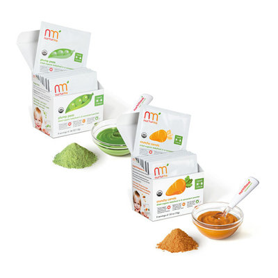 NurturMe Plump Peas and Crunchy Carrots Dried Organic Baby Food