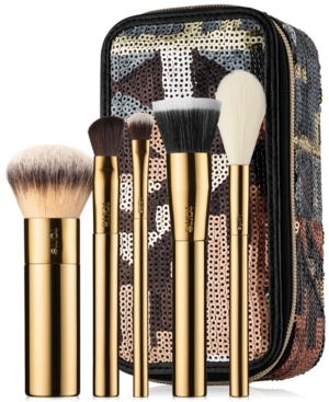 tarte Stroke of Midnight Brush Set & Travel Case
