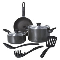 Chefmate 8 pc Cookware Set Graphite
