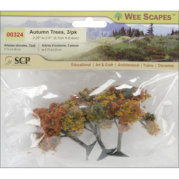 Scp SCP Autumn Trees (Pack of 3)