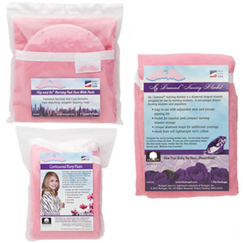 Nuangel, Inc. NuAngel Flip and Go Pink Nursing Pads/ Case