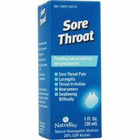 NatraBio Sore Throat 1 fl oz