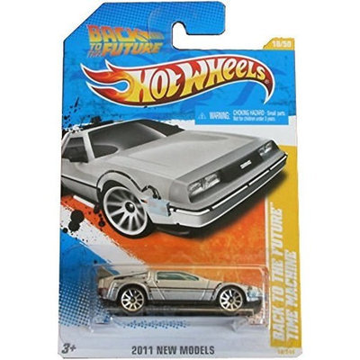 Mattel Hot Wheels 1985 Back To The Future Time Machine 1/64