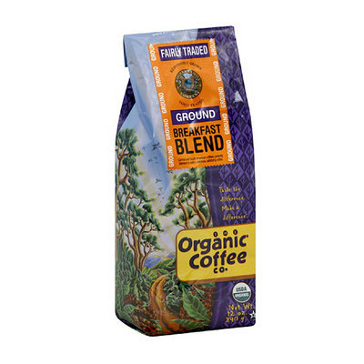 The Organic Coffee Co. Ground Breakfast Blend Coffee