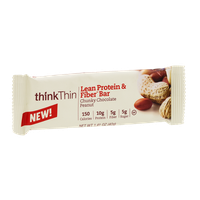 thinkThin Chunky Chocolate Peanut Lean Protein & Fiber Bar