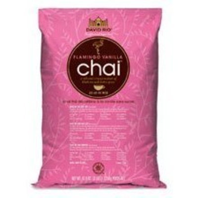 David Rio Flamingo Vanilla Decaf Sugar Free Chai 3lb. Bag