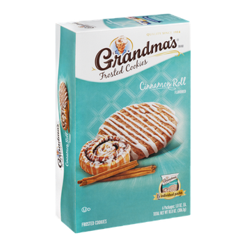 Grandma's Frosted Cookies Cinnamon Roll - 6 CT