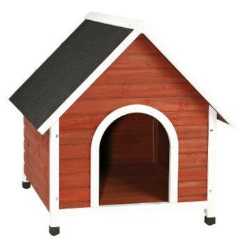 Trixie Nantucket Dog House - Auburn/White - Medium
