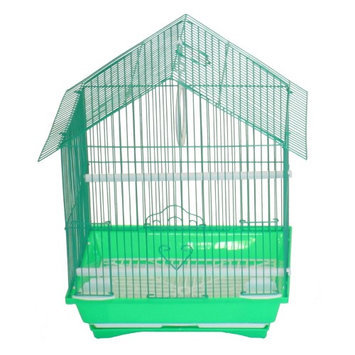 Yml Group YML House Top Style Parakeet Cage Green