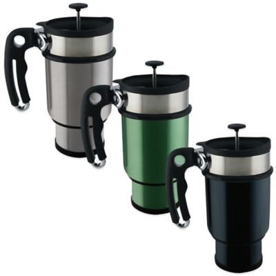 Liquid Planet Double Shot French Coffee Press(Case of 12) - from ChefEx