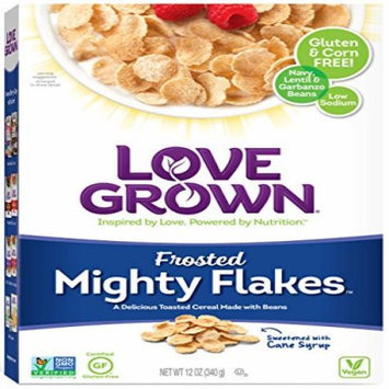 Love Grown Foods CEREAL, MIGHTY FRSTED FLKS, (Pack of 6)
