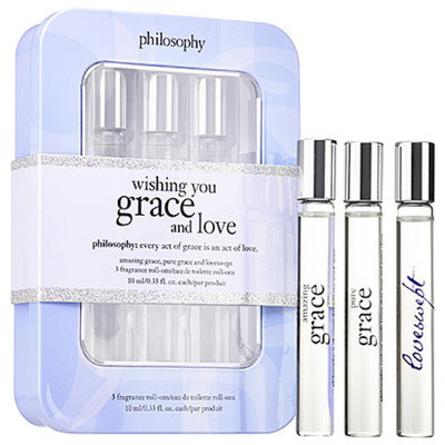 philosophy Wishing You Grace & Love Rollerball Trio