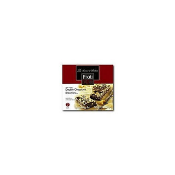 Protidiet Double Chocolate Brownies High Protein Bar (Box of 7)