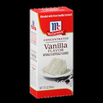 McCormick® Vanilla Flavor - Concentrated