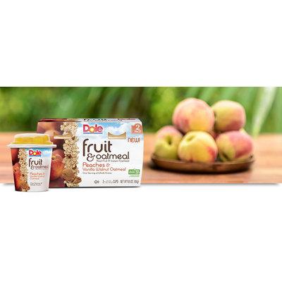 Dole Fruit & Oatmeal Peaches And Vanilla Walnut Oatmeal