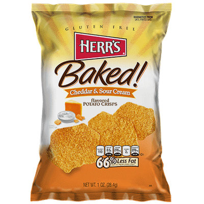 Herr's® Cheddar & Sour Cream Baked Potato Crisps