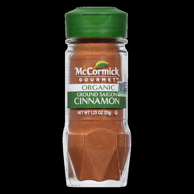 McCormick Gourmet™ Organic Cinnamon, Ground Saigon